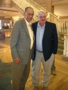 Bob Prais with Vin Padden