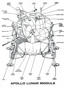 Apollo Lunar Module Sketch