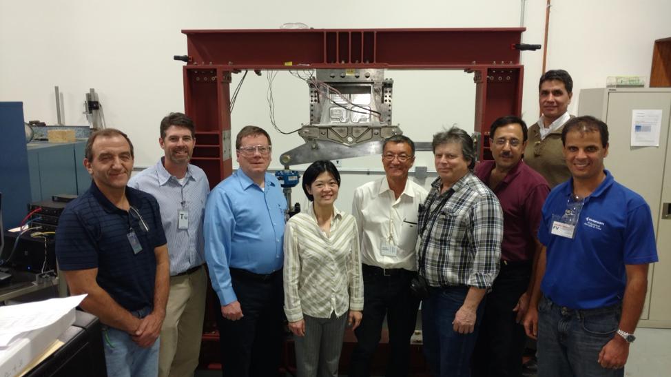 IPT team members from Embraer, Pratt & Whitney, Northrop Grumman/Padden Design Engineering
